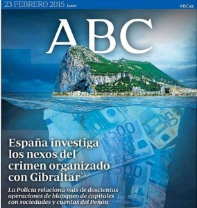 Gibraltar in deep waters?
