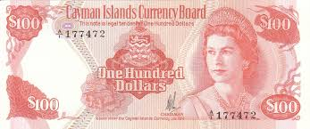 Cayman banknote