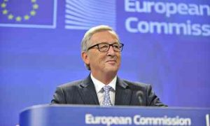 EC President Jean-Claude Juncker Holds Press Conference
