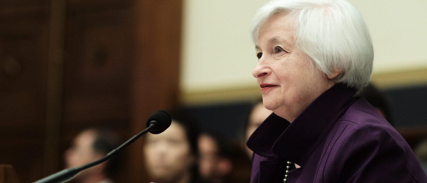 US Secretary of the Treasury Janet L. Yellen