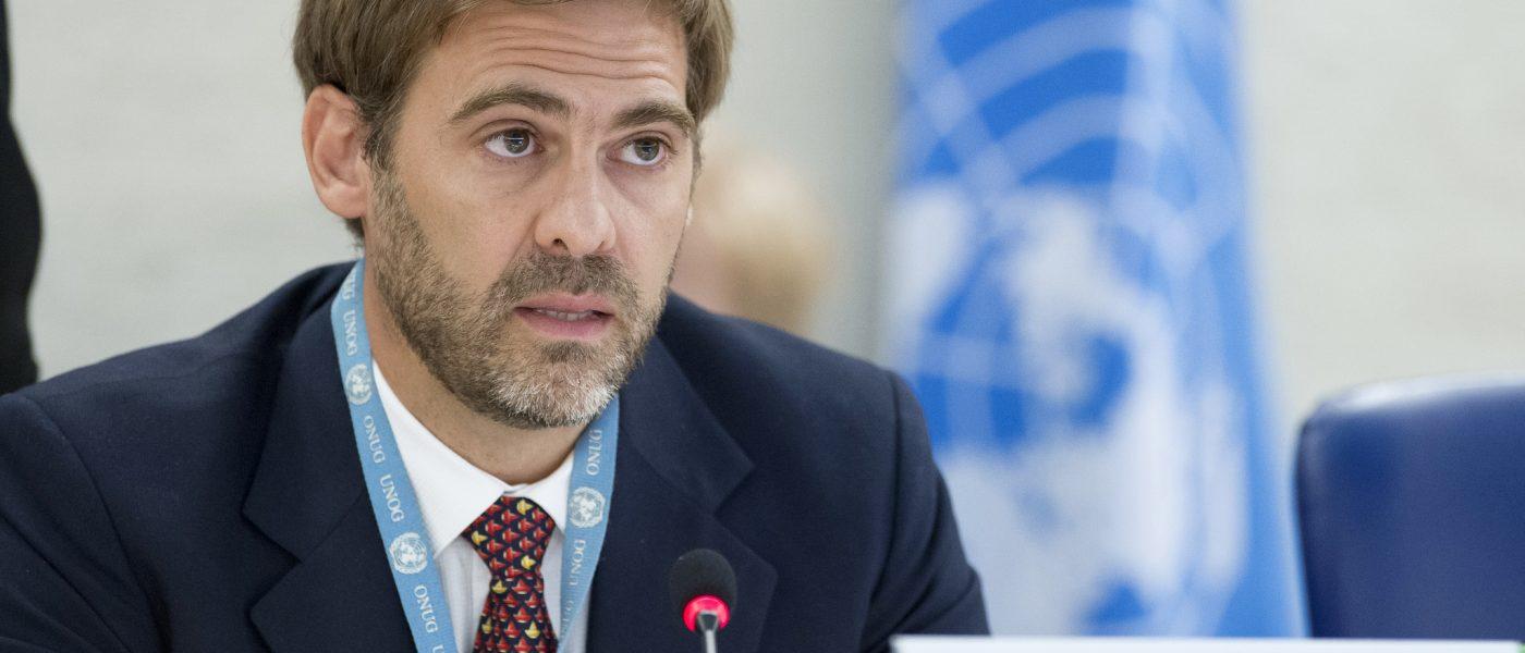 UN Independent Expert Juan Pablo Bohoslavsky