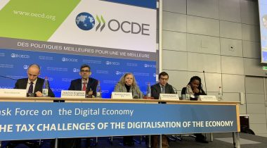 Panel of speakers at the OECD